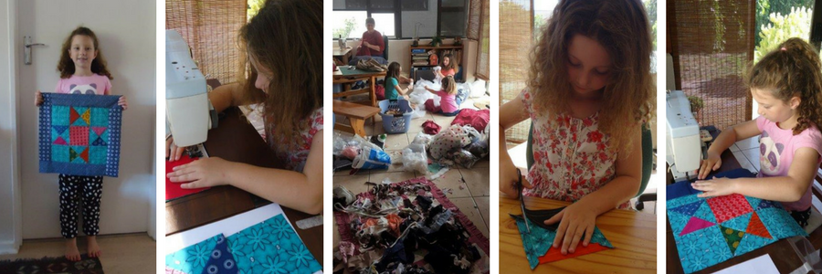 Hazelmay Duncan has passed on her love of sewing to her Children and Grandchildren. #allsewcrafty