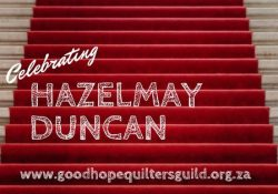 Celebrating our 2nd Star of the Sew, Hazelmay Duncan #allsewcrafty