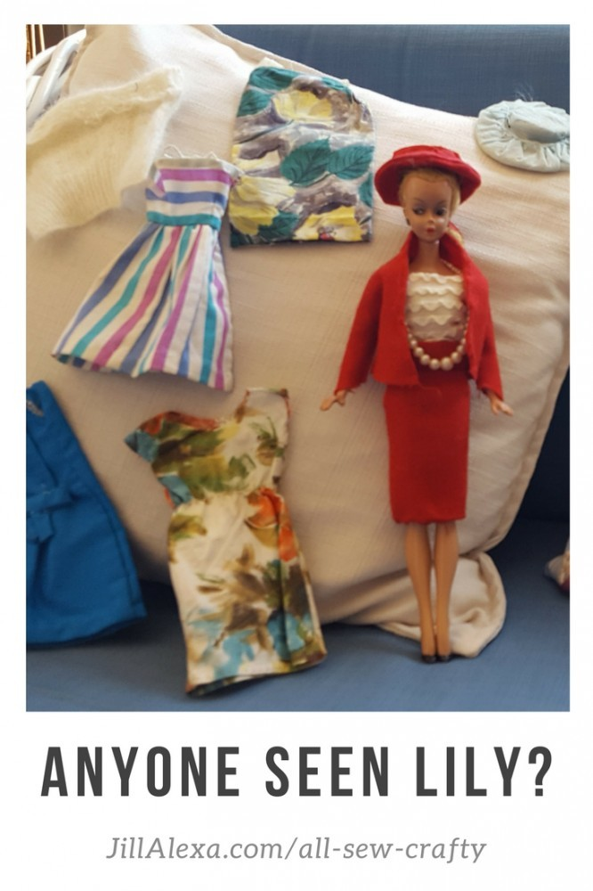 Do you remember Lily? Hazelmay Duncan, our Star of the Sew has kept her in mint condition for 61 years. #allsewcrafty