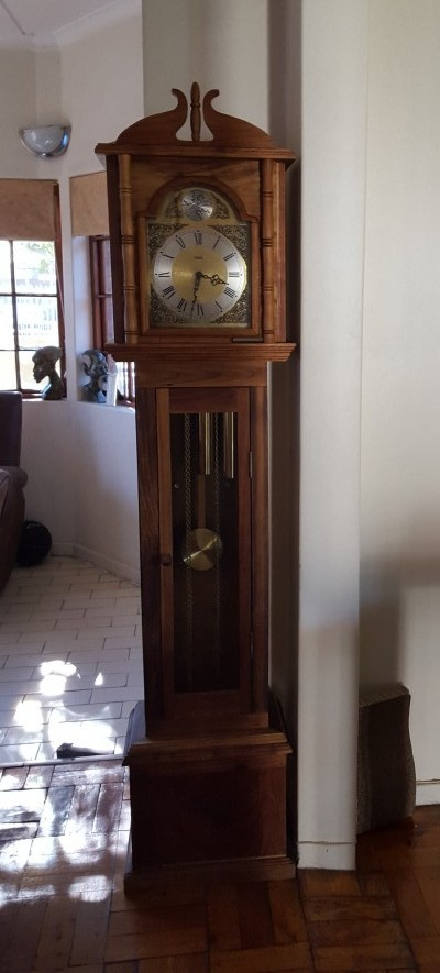 Picking Up Pieces Grandfather Clock JillAlexa.com