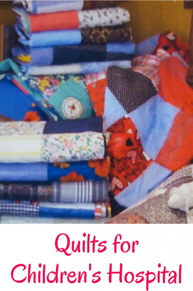Quilts made with love to cheer up children in an Orthopedic Hospital. #quiltingpreciousmemories