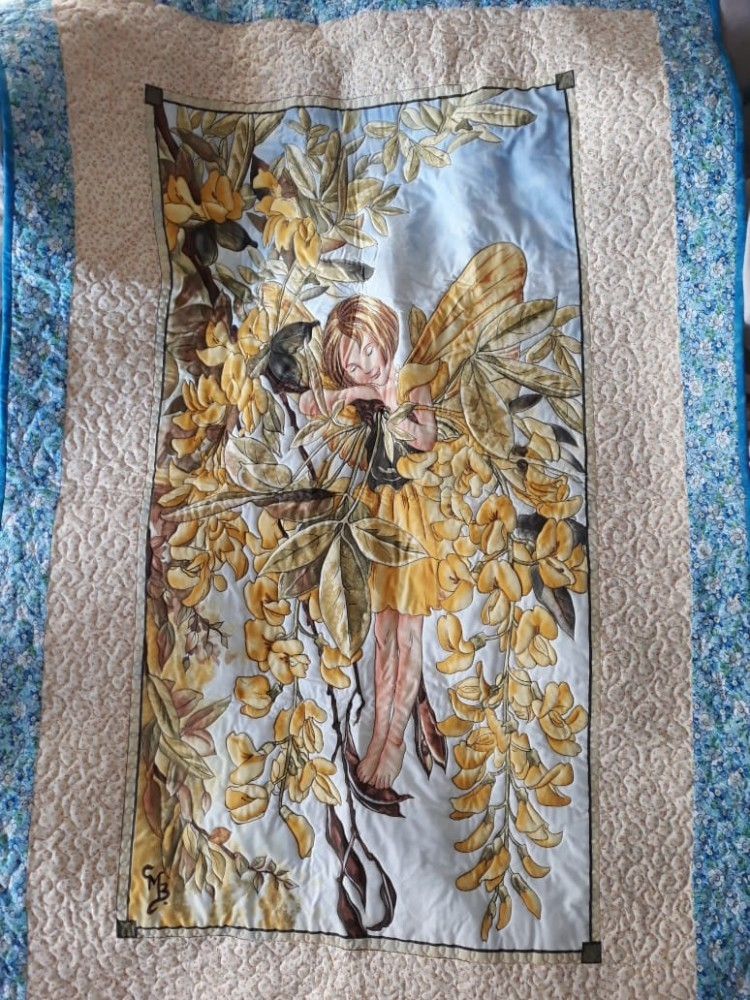 Fairy Quilt Made with Love by Jill Alexa du Preez for Kiara #QuiltingfromtheHeart