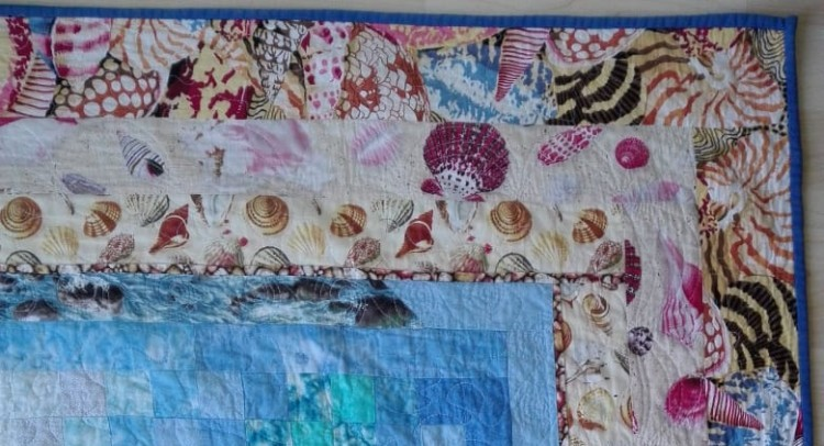Quilt Border - Made with Love for Granddaughter, Kate by Jill Alexa du Preez #QuiltingfromtheHeart