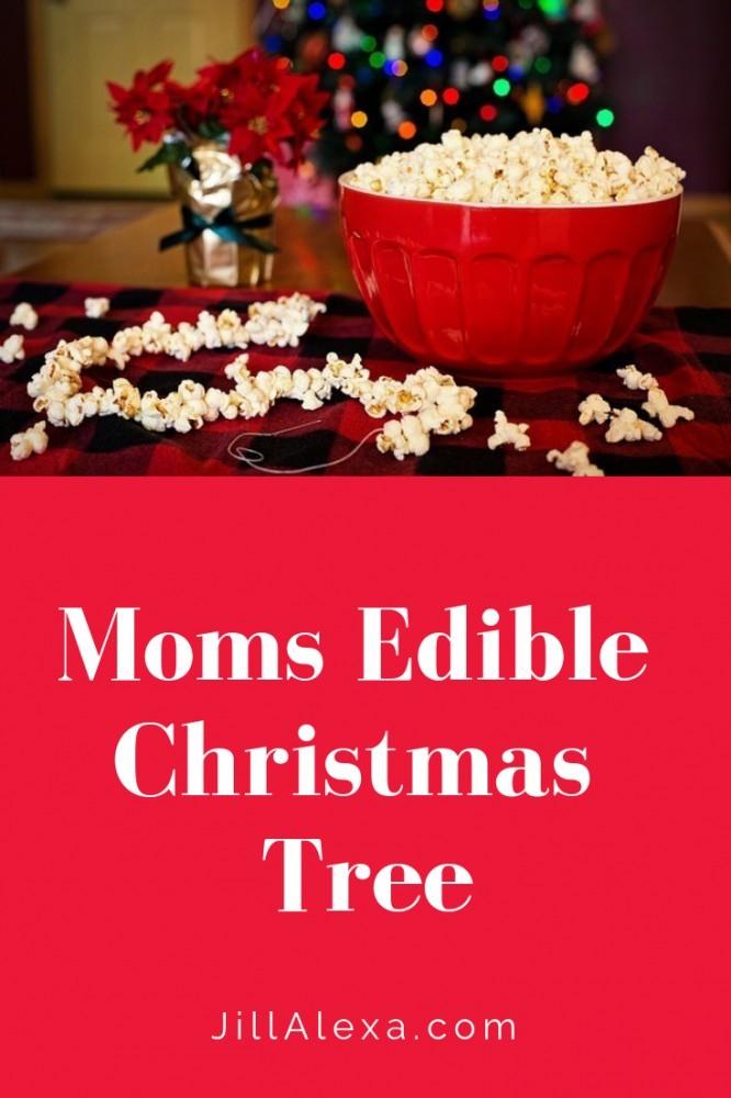 Moms Edible Christmas Tree