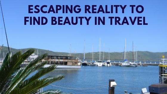 Escaping,reality,to,find,beauty,in,travel