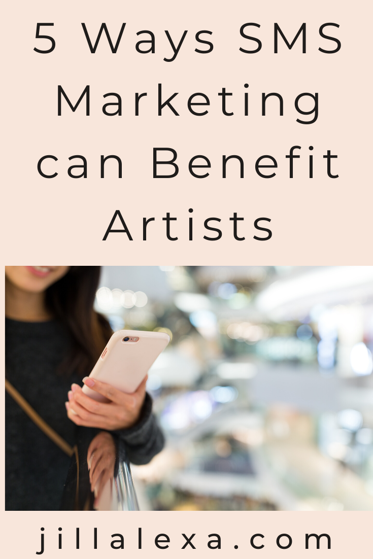 Did you know, your smartphone can allow you to stay connected with clients and be used as a marketing tool.  Here are 5 ways SMS marketing can benefit Artists. #SMSMarketing #MobileMarketing #Artists #BusinessTipsforArtists