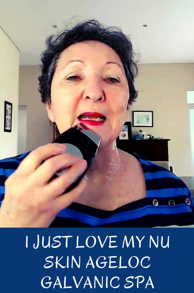 I just love my Nu Skin AgeLOC Galvanic Spa